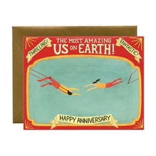 Yeppie Paper Anniversary Card - Trapeze Artists