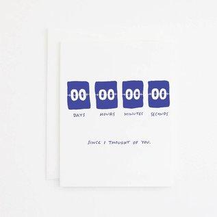Party Sally Greeting Card - Zero Days