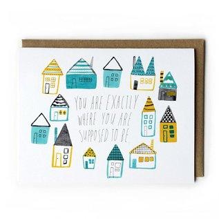 Yuko Miki Encouragement Card - Where You Need To Be