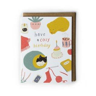 Yuko Miki Birthday Card - Cozy Birthday
