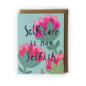 Yuko Miki Encouragement Card - Self-Care