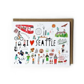 Yuko Miki C - SEA I Heart Seattle Icons