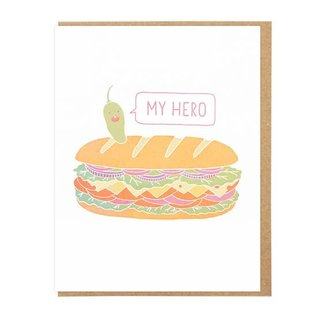 Lucky Horse Press Greeting Card - My Hero