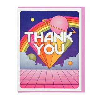 Lucky Horse Press Thank You Card - Universe