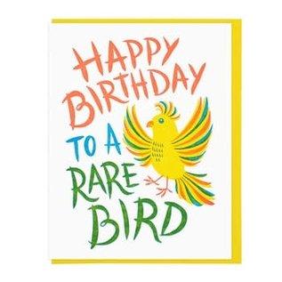 Lucky Horse Press Birthday Card - Rare Bird