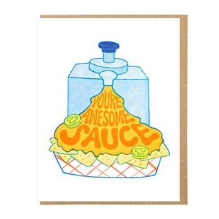 Lucky Horse Press Greeting Card - You're Awesome Sauce