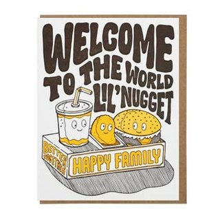 Lucky Horse Press Baby Card - Welcome Lil' Nugget