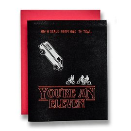 Ladyfingers Letterpress SALE Greeting Card - You're An Eleven
