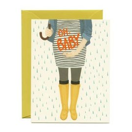 Yeppie Paper Baby Card - Oh Baby Shower
