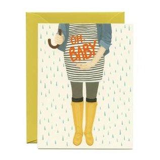 Yeppie Paper Baby Card - Oh Baby Shower