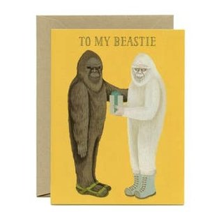 Yeppie Paper Birthday Card - Beastie