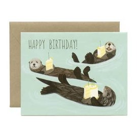 Yeppie Paper Birthday Card - Otter Birthday