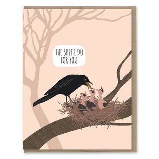 Modern Printed Matter Mother's Day - Bird Puke