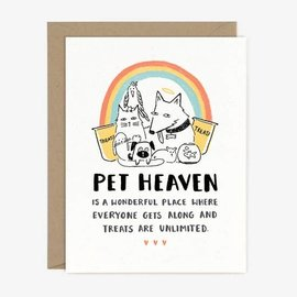 Paper Pony Co. Pet Sympathy - Pet Heaven