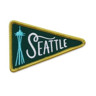 Seattle Pennant Patch