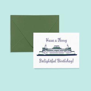 Pier Six Press Birthday Card - Ferry Delightful