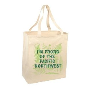 Pier Six Press Frond of the PNW Tote