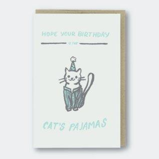Pike St. Press Birthday Card - Cat's Pajamas