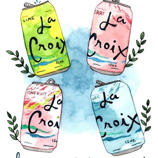 Little Canoe Birthday Card - La Croix