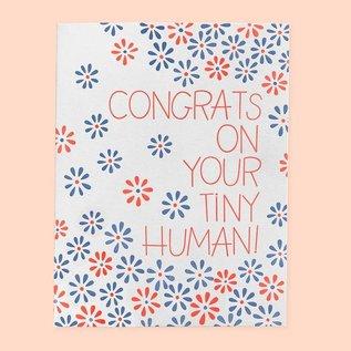 The Good Twin Baby Card - Tiny Human