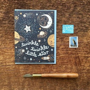 Noteworthy Paper & Press Baby Card - Twinkle