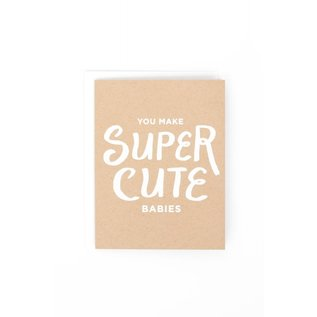The Social Type Baby Card - Super Cute Babies