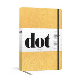 Penguin Group Dot Journal - Gold