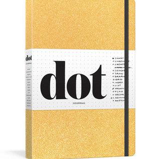 Penguin Group Dot Journal - Gold