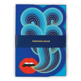 Chronicle Books Johnathan Adler Lips Journal