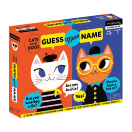 Chronicle Books Cats and Dogs: Guess Meow Name