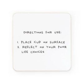 Ohh Deer Coaster - Directions For Use
