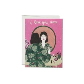 Red Cap Cards Mother's Day - Powder Room