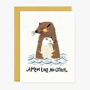 Paper Pony Co. Mother's Day - Mom Like No Otter