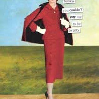 Anne Taintor Birthday Card - Twenty