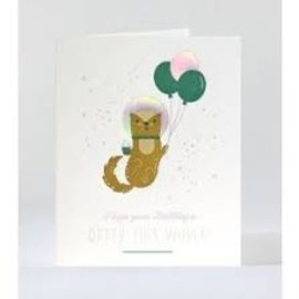 Elum Birthday Card - Otter This World