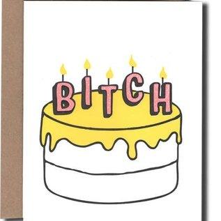 Power and Light Press Birthday Card - Bitch Cake