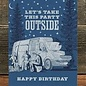 Waterknot Birthday Card - Party Outside