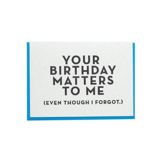 Constellation & Co. Belated Birthday - Your Birthday Matters