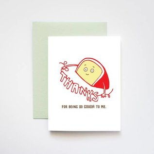 ilootpaperie Thank You Card - Gouda