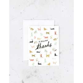 Idlewild Thank You Card - Million Thanks