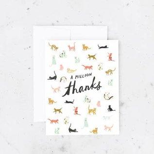 Idlewild Thank You Card - Million Thanks
