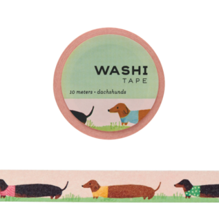 Girl of All Work Washi Tape - Dachshunds