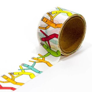 Smarty Pants Paper Wacky Waver Washi Tape