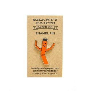 Smarty Pants Paper Wacky Waver Enamel Pin