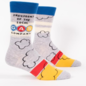 Blue Q Also Blue Q Men's Socks