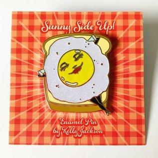 Kelly Jackson Sunny Side Up Enamel Pin