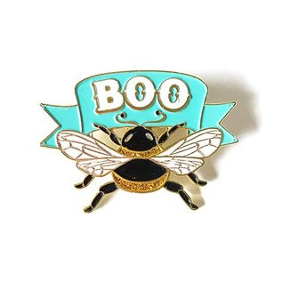 Kelly Jackson Boo Bee Enamel Pin
