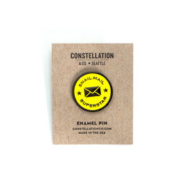 Constellation & Co. Snail Mail Superstar Enamel Pin