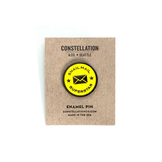 Constellation & Co. Snail Mail Superstar Enamel Pin