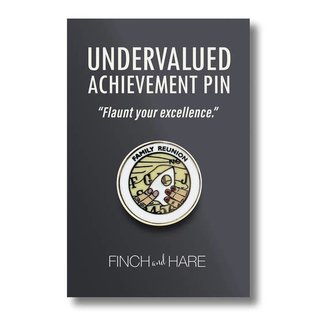 Finch and Hare Family Reunion Enamel Pin